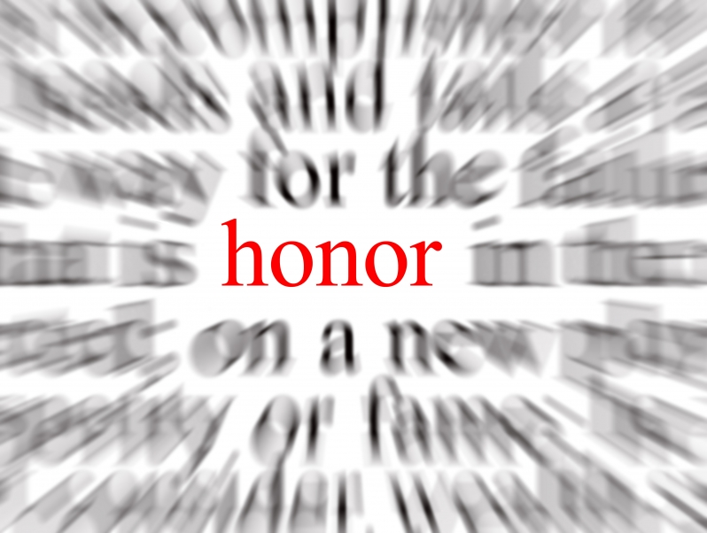 the word honor