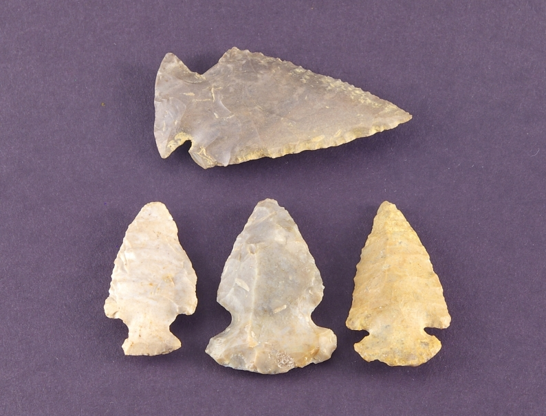 arrow heads